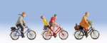 Noch 36898 N Scale Cyclists